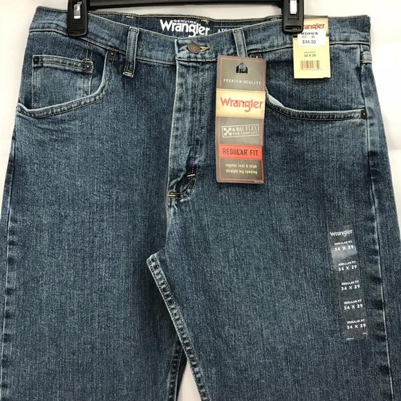 8c41c1d3 Wrangler Jeans | Mens 4way Flex 34x29 | Poshmark